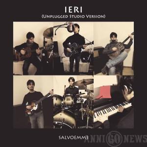 """La copertina del cd """"Ieri - unplugged version"""""""