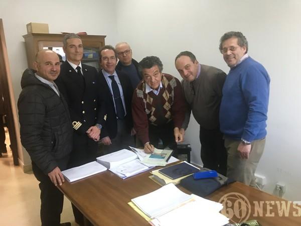 Ufficio Di Direzione Lavori : Santagata: consegnati i lavori del porto anni60news