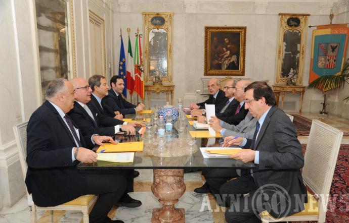 Musumeci incontra i rettori siciliani: